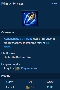 mana potion is one of the best removed items in league of legends