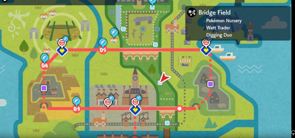 bridge field pokemon sword