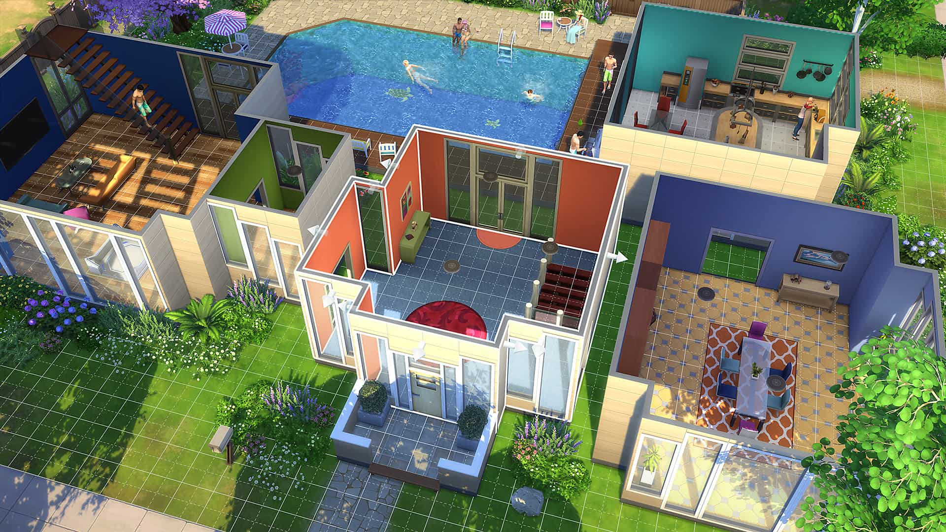 sims 4 ps4 relaxing
