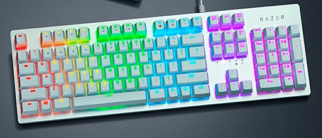 razer huntsman white
