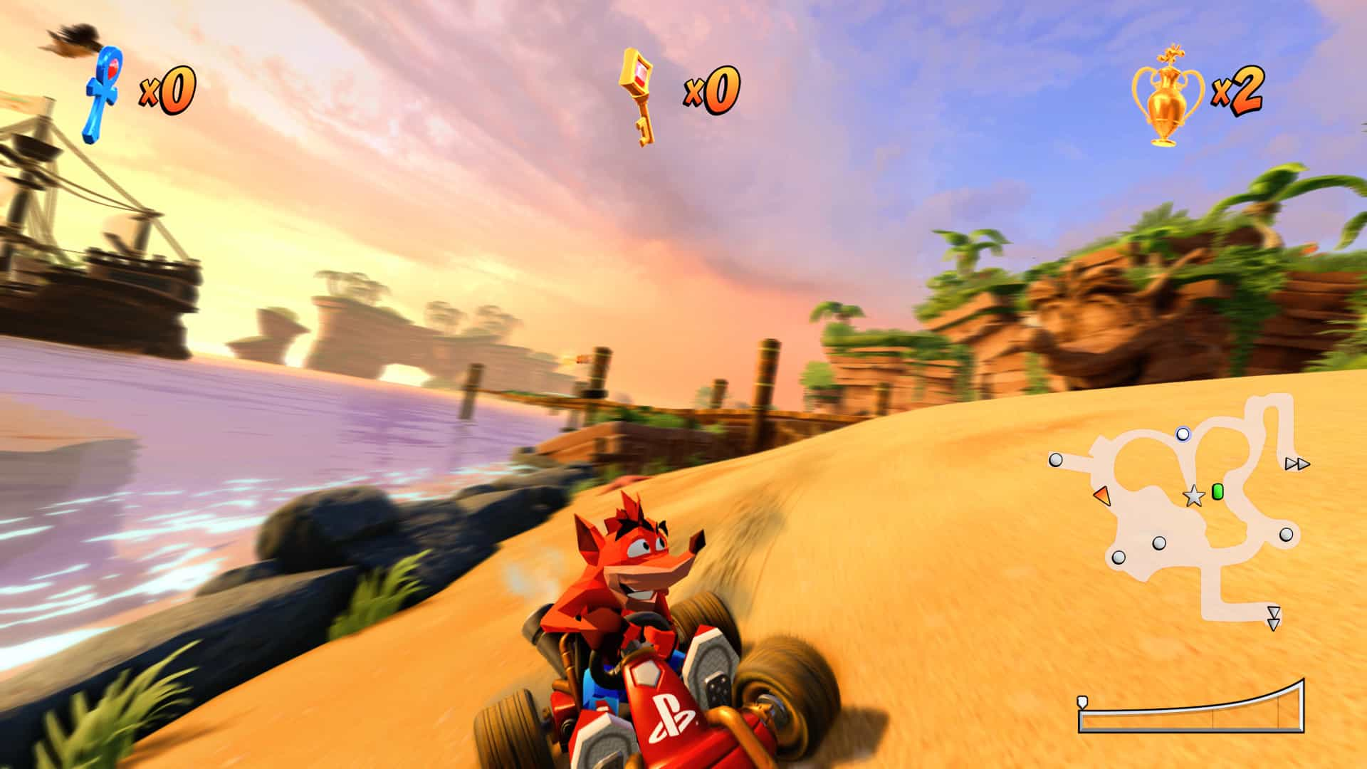 crash team racing ps4 kids